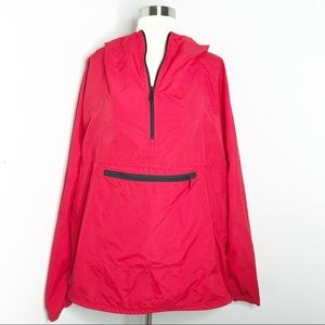 Vintage 90s LL Bean Anorak Jacket Red Size L